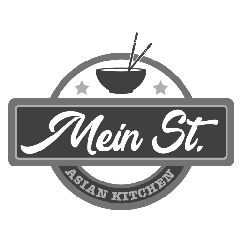 Mein Street logo in black and white