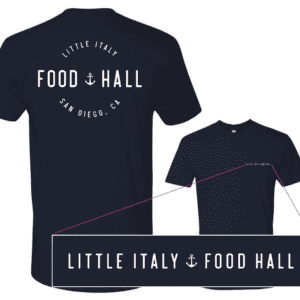 Mock up of Little Italy food hall logo