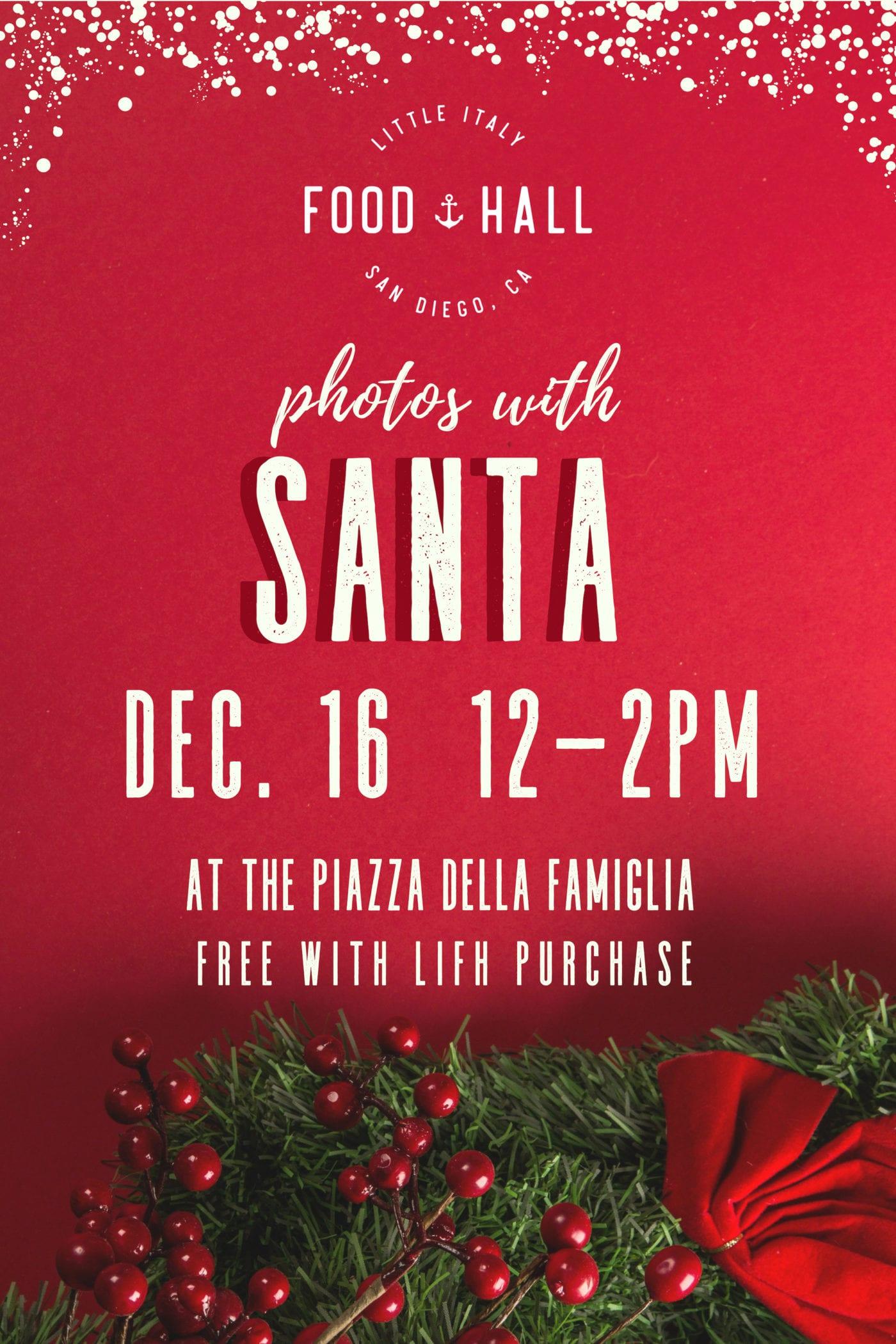 Photos with Santa graphic