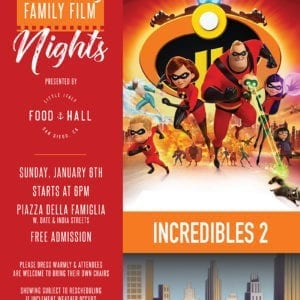 Incredibles Movie Night Poster