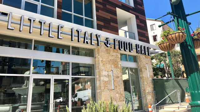 Little Italy Food Hall Exterior