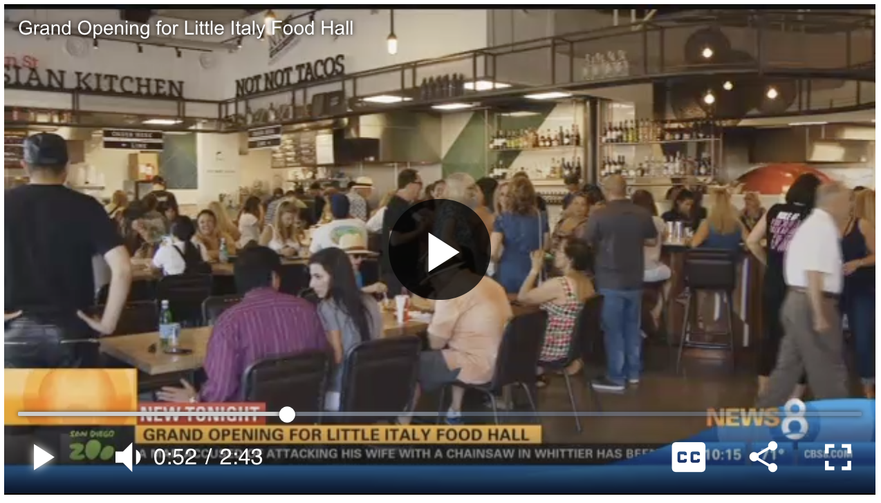 Food Hall News Clip