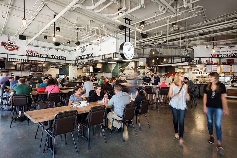 Food Hall Customers