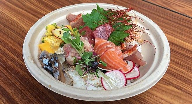 Single Fin Donburi Bowl