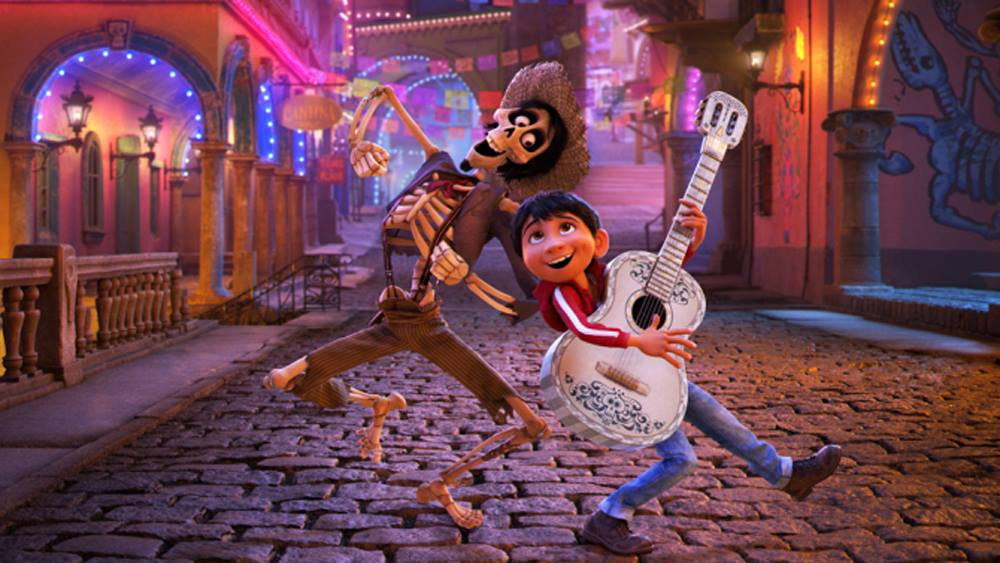 Movie still from Coco