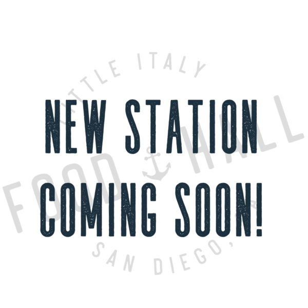 New Station Coming Soon