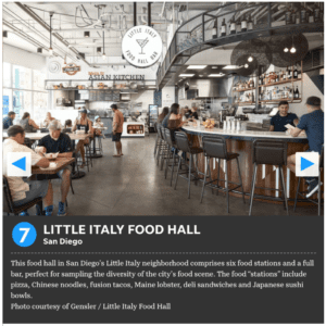 Little Italy Food Hall voted number 7