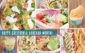 Avocado month graphic