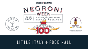 Negroni week graphic