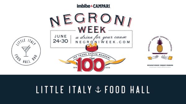 Negroni week graphic