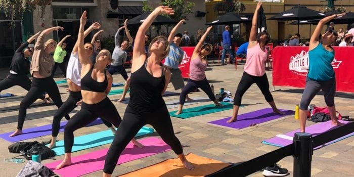 OmCyclye Yoga Class of the Piazza image