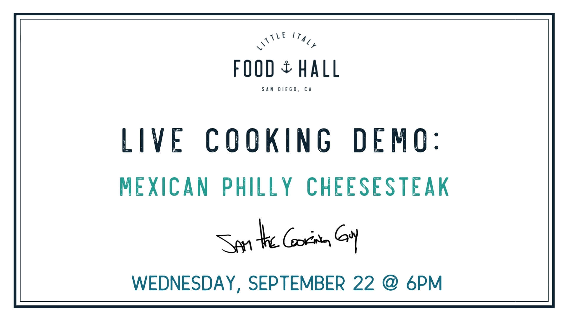 Live Demo Mexican Philly Cheesesteak