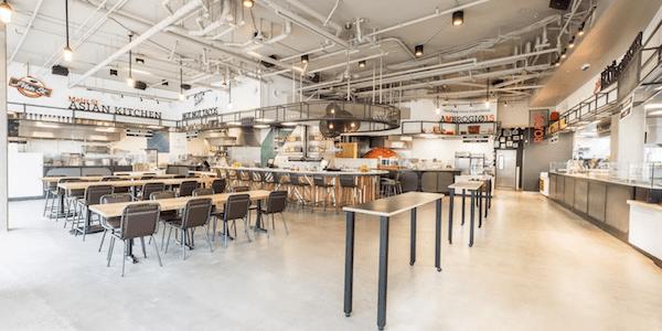 Food Hall Interior