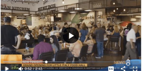 Food Hall News Clip